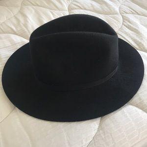 Black felt hat from TopShop